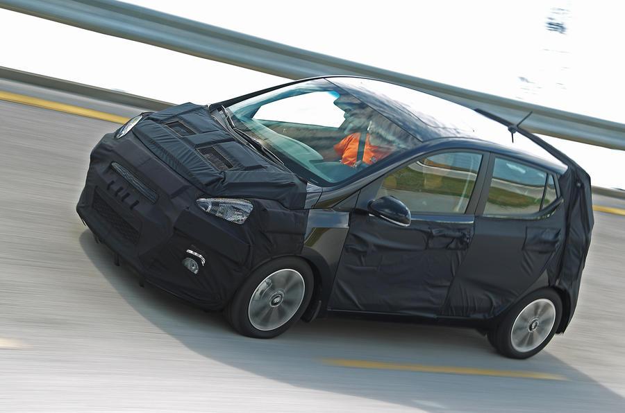 68bhp Hyundai i10 1.0-litre prototype