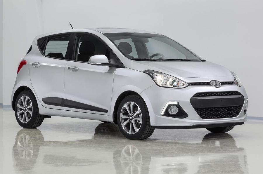 4 star Hyundai i10 1.0-litre prototype
