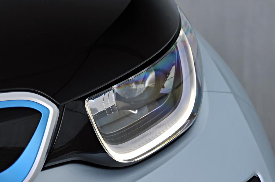 BMW i3 headlights