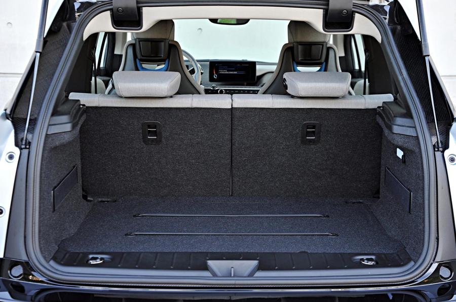 BMW i3 boot space