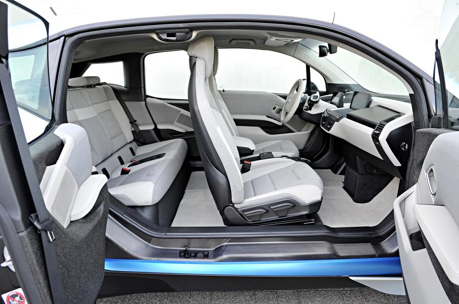 BMW i3 full cabin