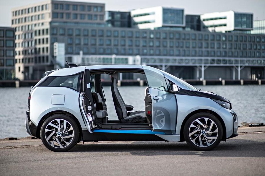 BMW i3 doors opened