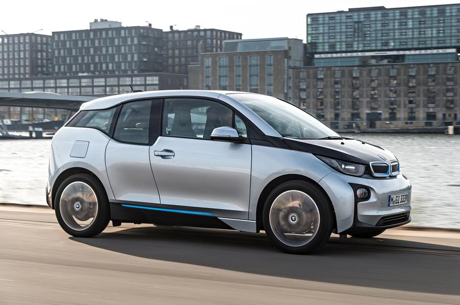 BMW i3 side profile