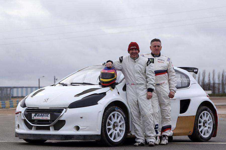 Jacques Villeneuve commits to World Rallycross Championship