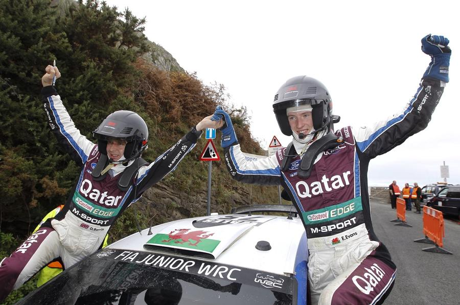 Rally GB day four: British drivers show plenty of promise