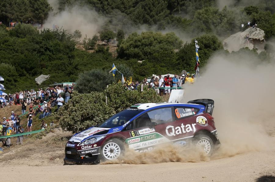 Two contrasting routes to rallying's top flight