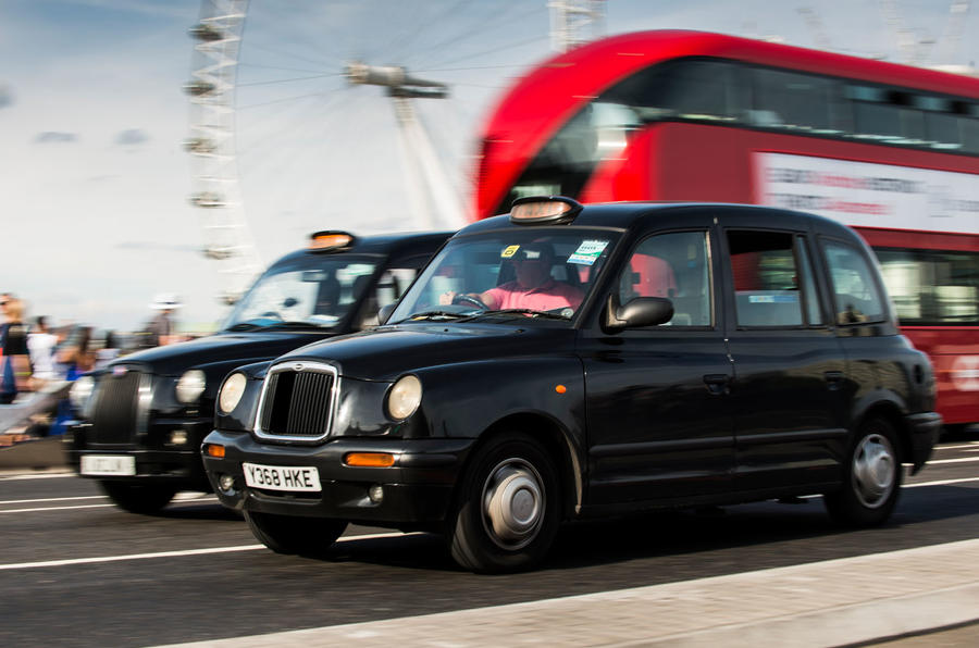 ULEZ used cars - old black cab