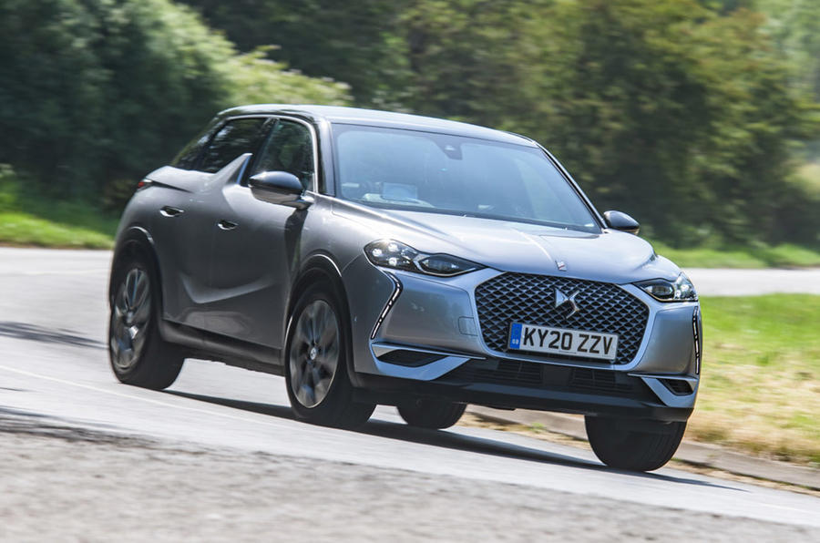 DS 3 Crossback E-Tense - front