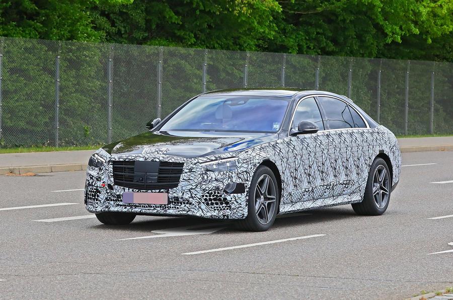 Mercedes-Benz S-Class spyshot