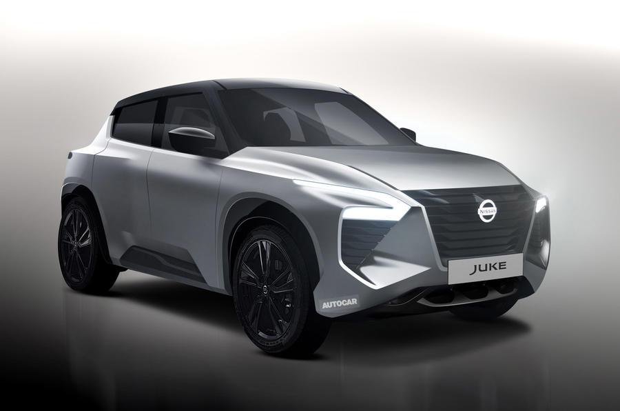 Nissan Juke - render