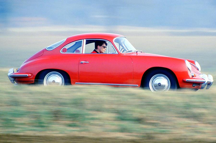 Porsche 356 - hero side