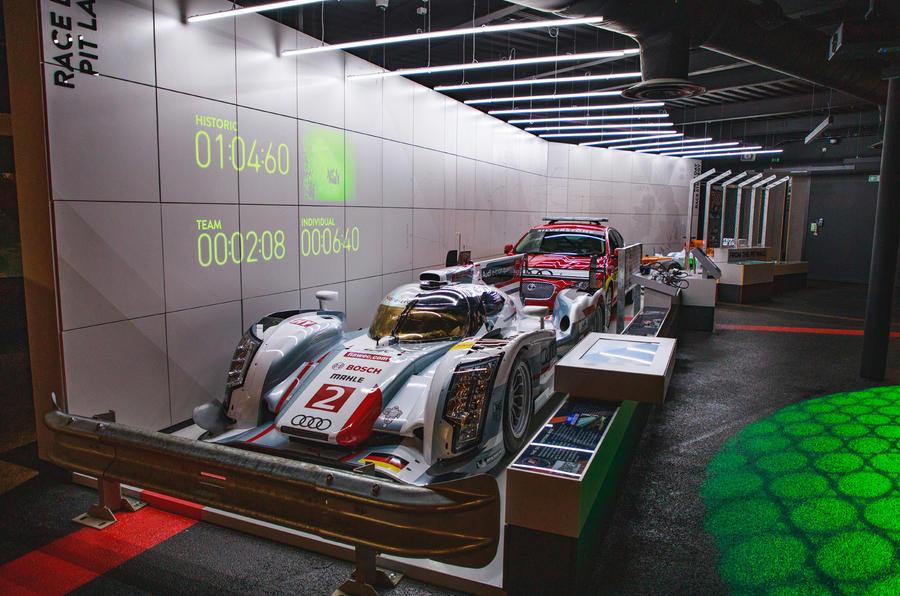 Silverstone museum race car