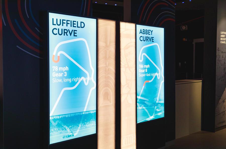 Silverstone museum turn speeds