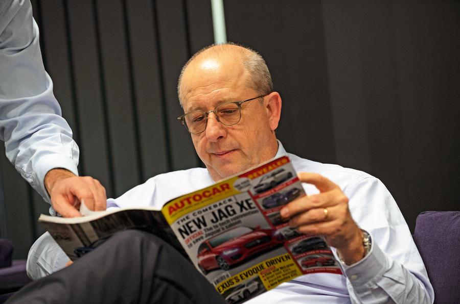 Jane-Philippe Imparato reads Autocar magazine