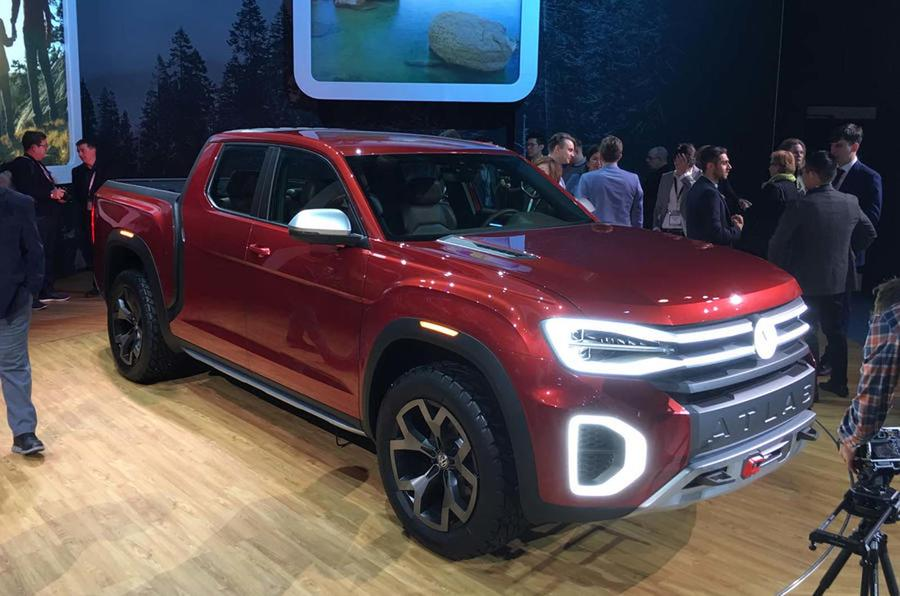 VW Atlas Tanoak pick-up concept