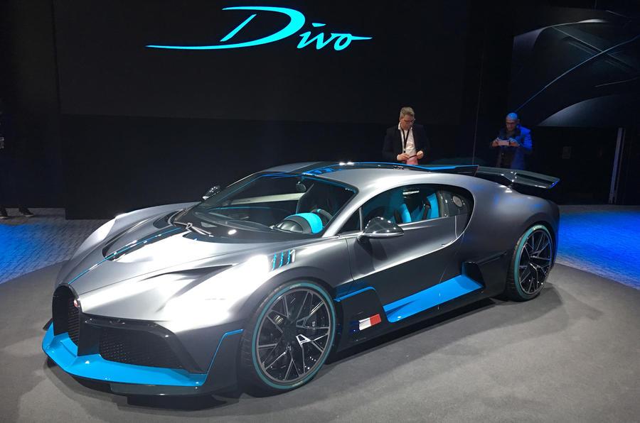 New Bugatti Divo Track Focused Hypercar Shown In Paris Autocar
