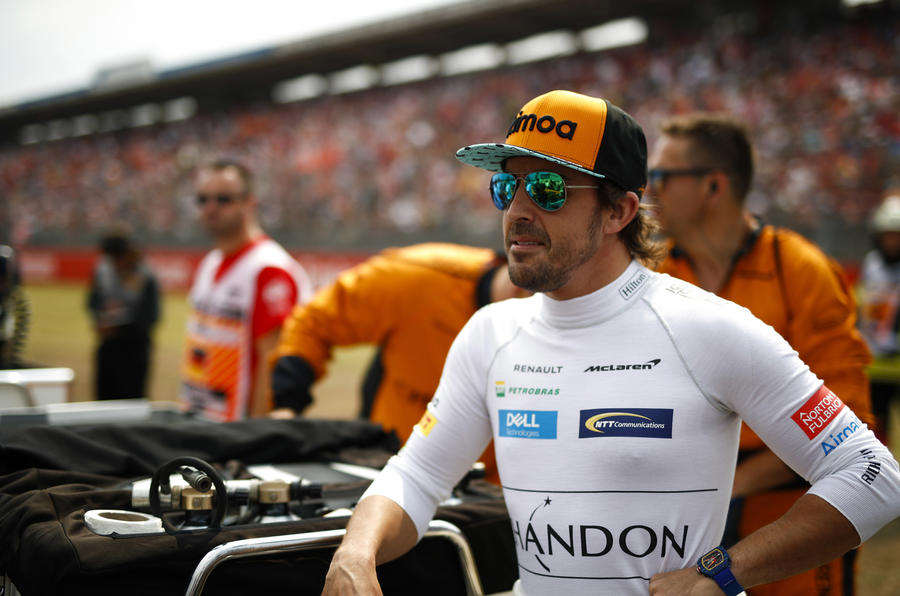 Fernando Alonso won't race in F1 in 2019