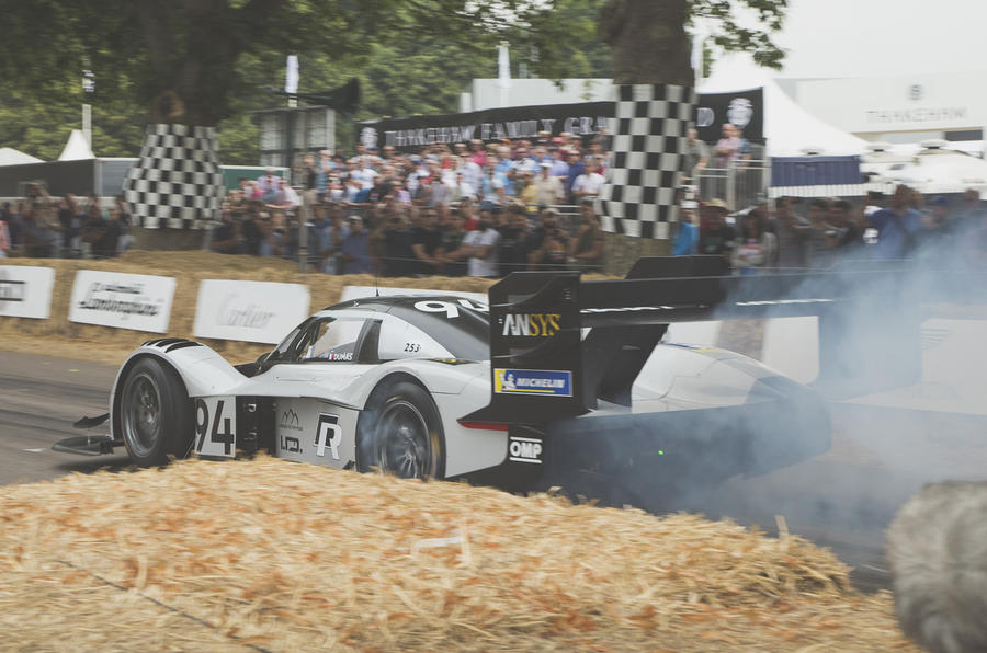 Volkswagen I.D. R Sets Electric Record On Goodwood Hillclimb