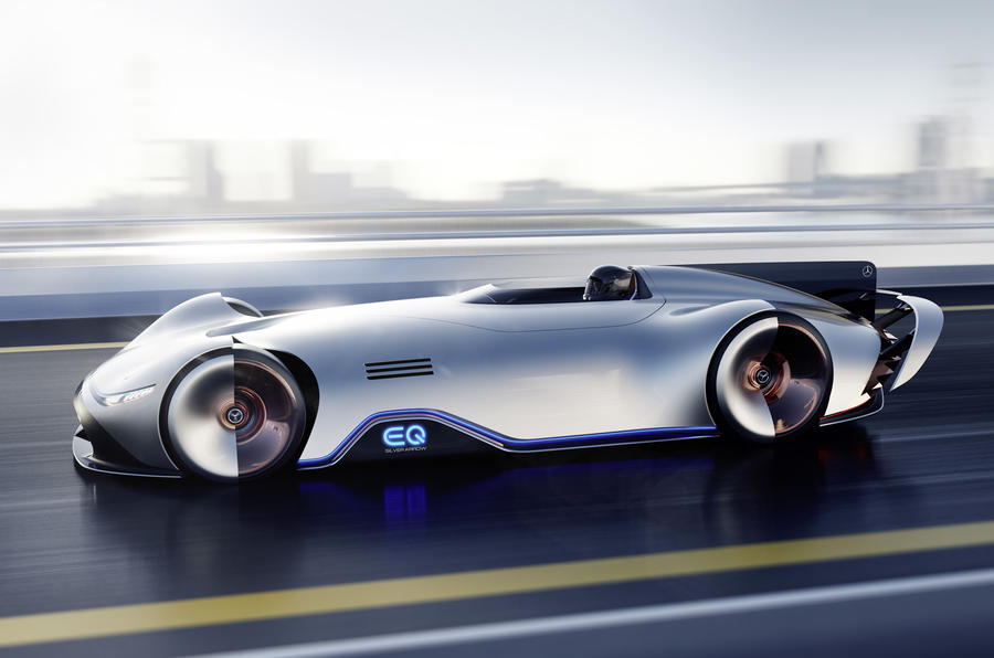 738bhp Mercedes EQ Silver Arrow electric concept revealed ...