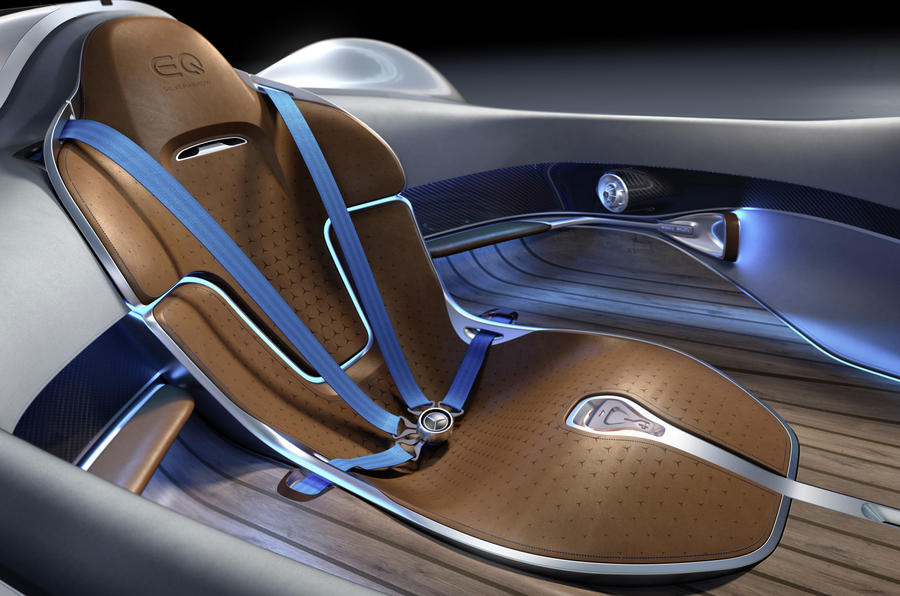 The Mercedes Benz EQ Silver Arrow