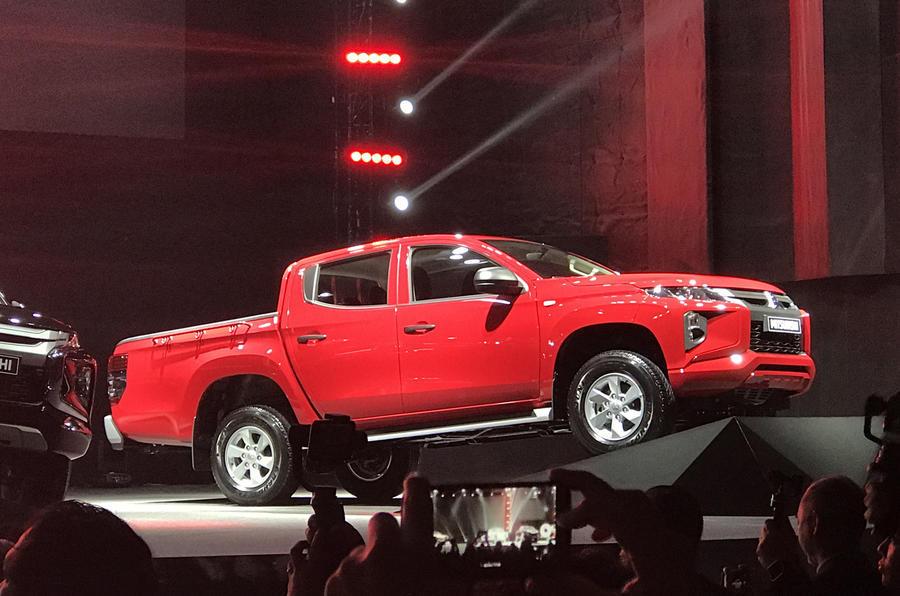 Mitsubishi L200 2018 reveal