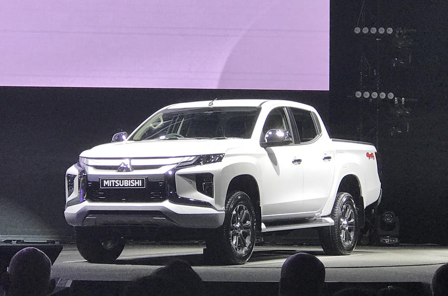The new Mitsubishi L200
