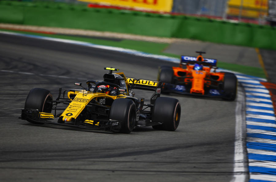"Spanish racer Carlos Sainz will switch from Renault to replace Fernando Alonso at the McLaren-Renault Formula 1 team next season. The 23-year-old is under contract to Red Bull, although he has been driving for the works Renault squad on loan this year. Sainz's future had been uncertain after Daniel Ricciardo switched from Red Bull to Renault. He was under consideration to replace Ricciardo, but McLaren swooped to sign Sainz to a 'multi-year deal' after compatriot Alonso decided to leave F1. ""Carlos brings w"