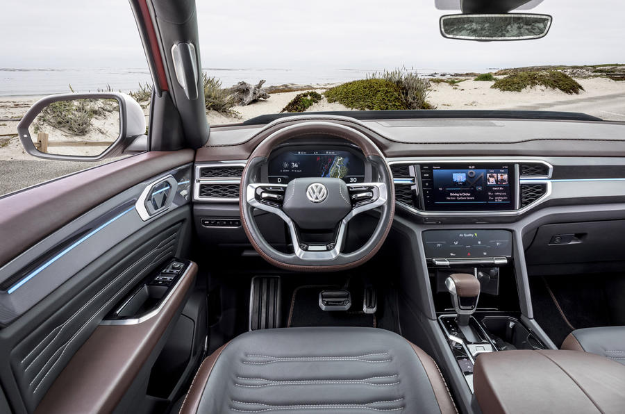 Vw Atlas Interior >> First drive: Volkswagen Atlas Tanoak pick-up concept | Autocar