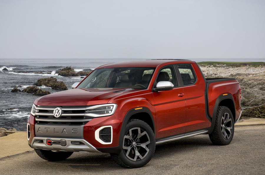 First drive: Volkswagen Atlas Tanoak pick-up concept | Autocar