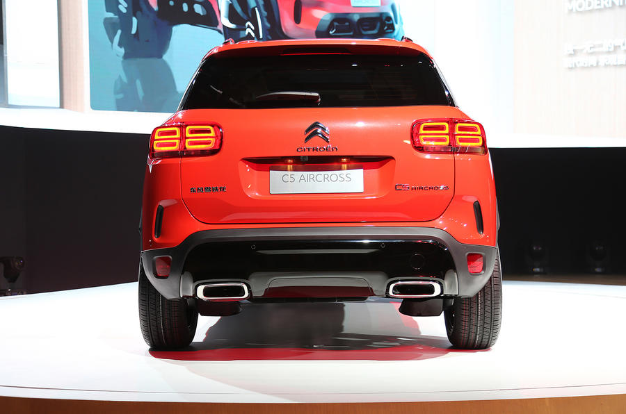 Citroen C5 Aircross To Be Revealed At Shanghai Motor Show Autos Post
