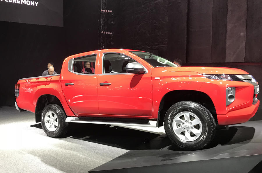 The new Mitsubishi Triton debuts in Thailand
