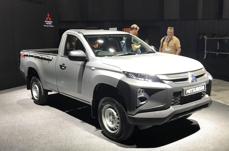 Mitsubishi introduced a new version of the pickup L200