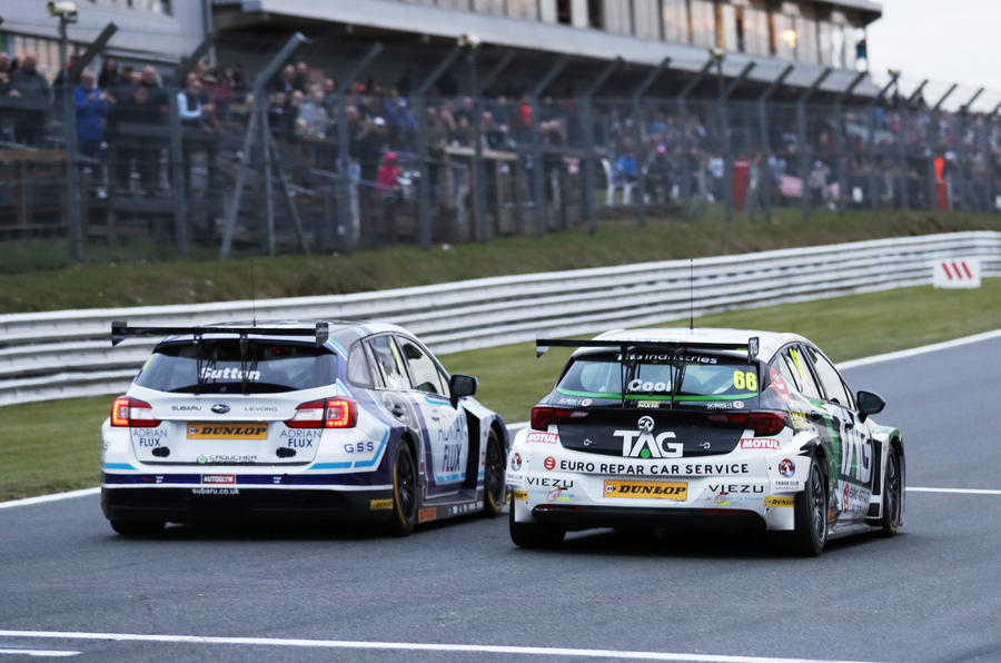 BTCC Brands Hatch 2018