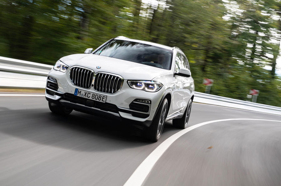BMW X5 xDrive 45e 2019 first drive review -