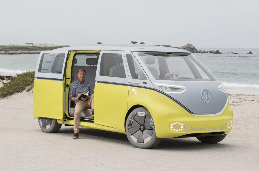 First Drive Volkswagen Id Buzz Concept Review Autocar