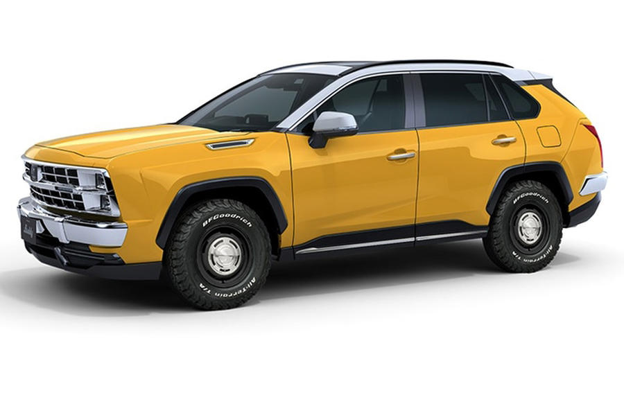 Mitsuoka Buddy revealed as retro-styled Toyota RAV4 | Autocar