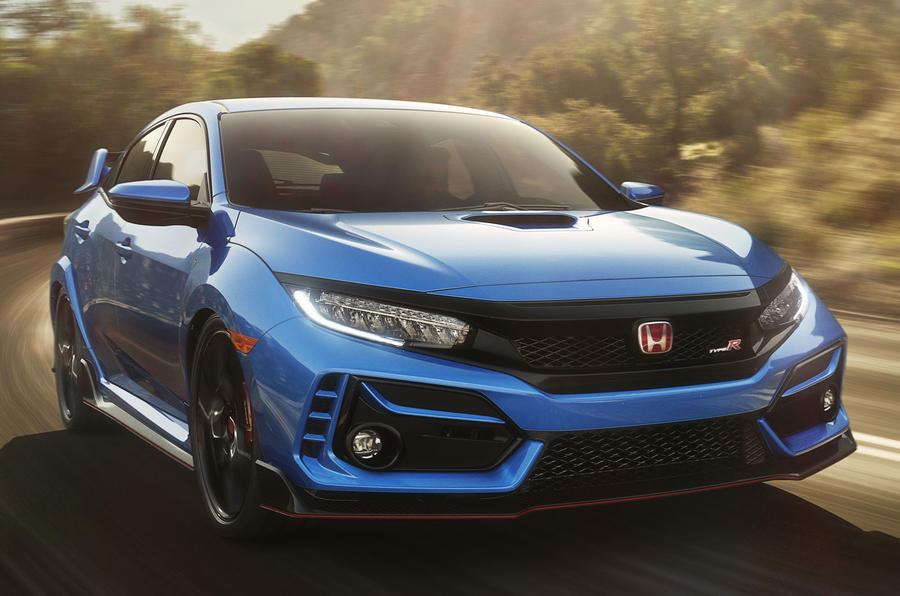 Honda Civic Type R Revealed With Styling and Hardware Changes