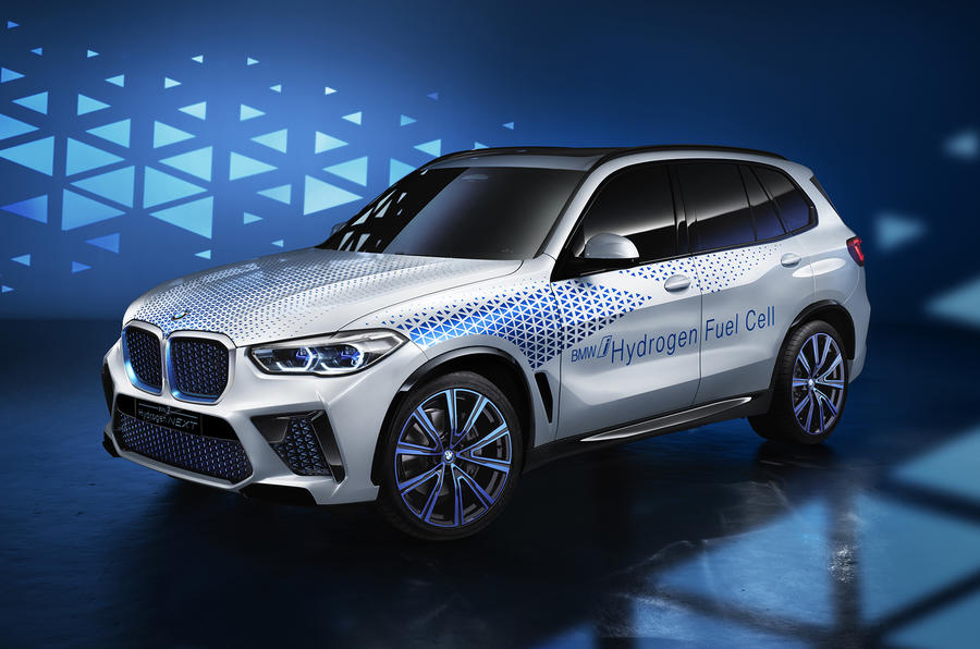 BMW I Hydrogen Next - official reveal front