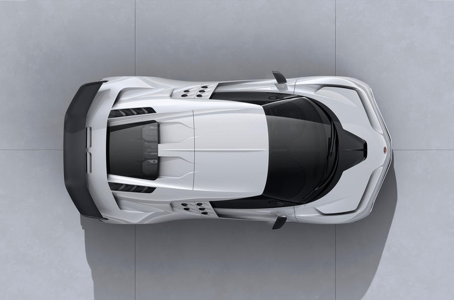 2020 Bugatti Centodieci reveal - roof