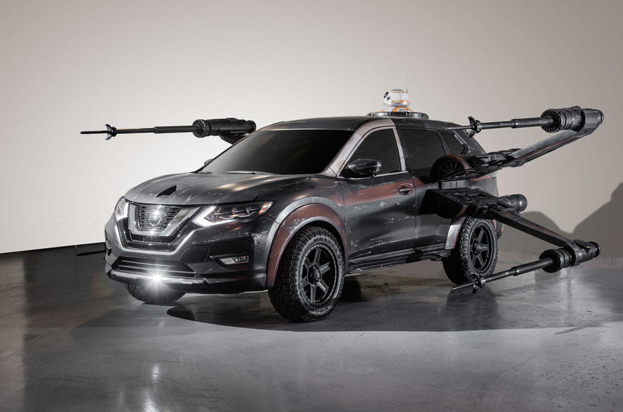 Nissan Showcases Six Star Wars Themed Concept Cars Autocar