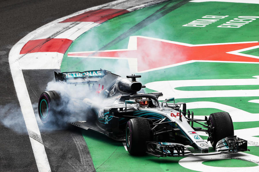 Lewis Hamilton won his fifth championship in Mexico