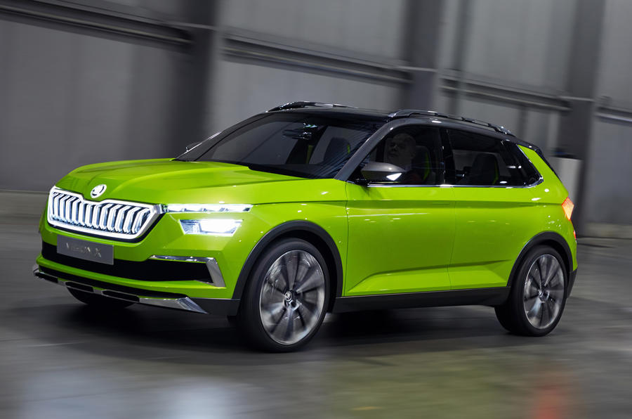 Skoda Vision X Concept First Drive Of Hybrid Cng