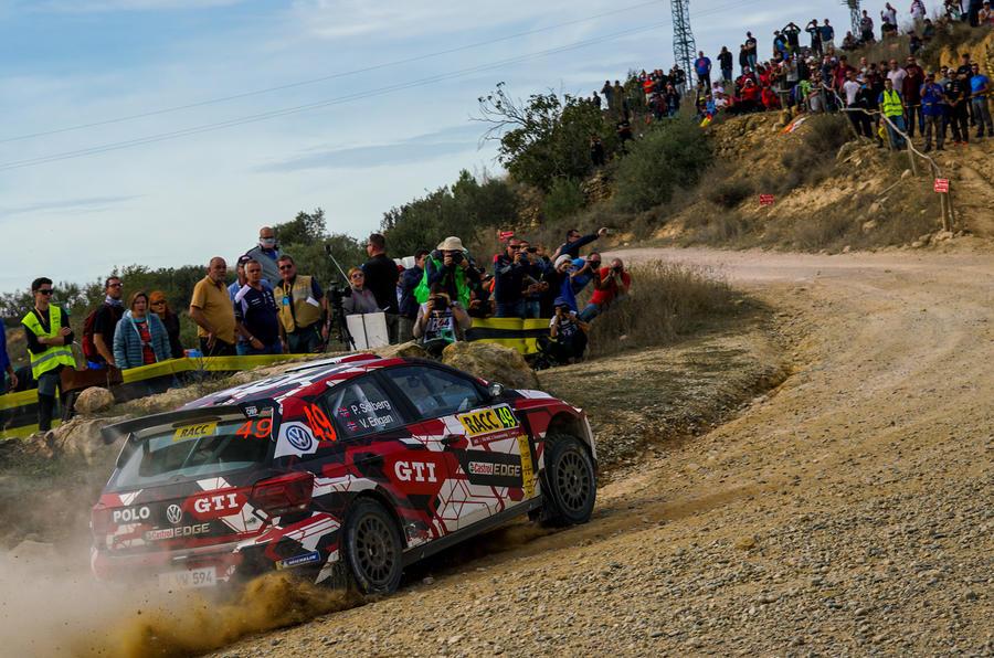 Solberg Rally Spain