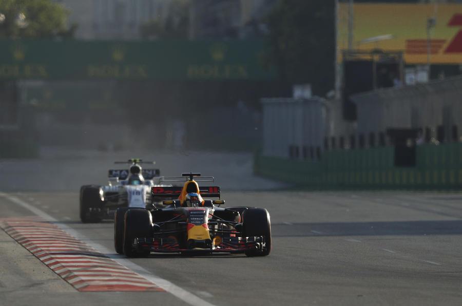 Ricciardo Azerbaijan 2017
