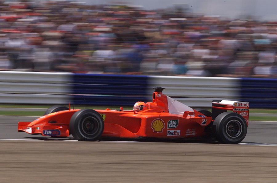 Michael Schumacher 2001