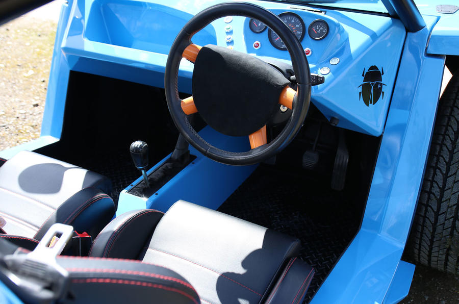 Lee Noble launches £18,000 Bug:R beach buggy