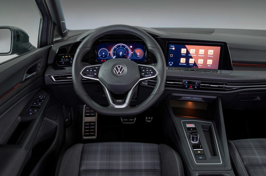Volkswagen Golf GTD 2020 - interior