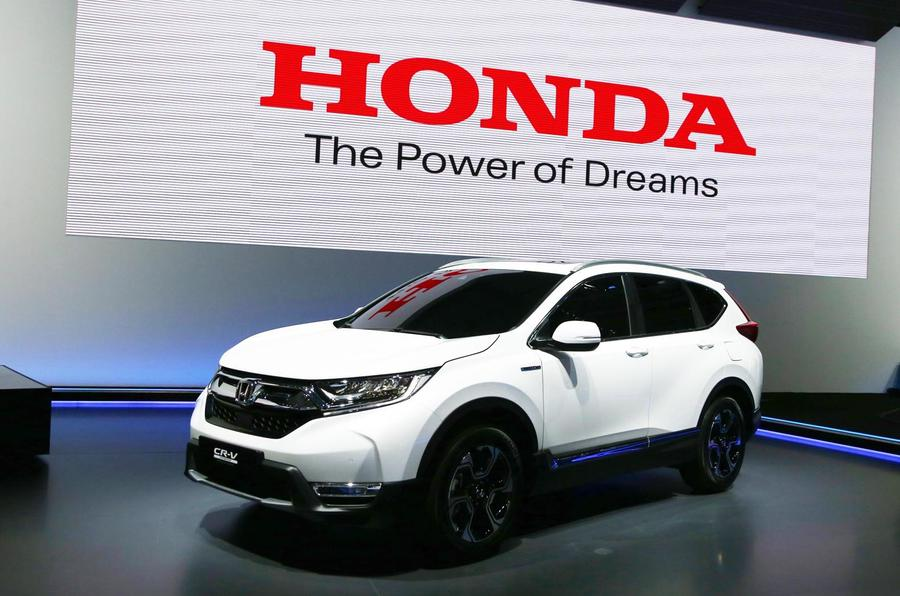 Honda crv hybrid uk
