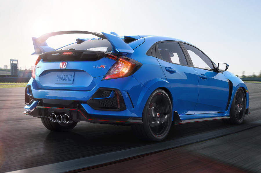 Facelifted Honda Civic Type R revealed with handling and interior upgrades