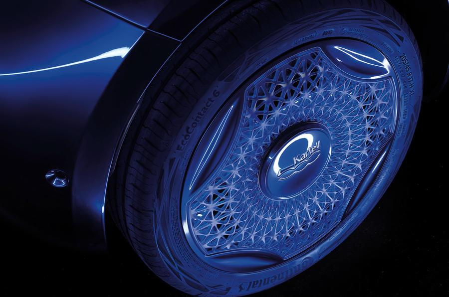 Fiat 500 Kartell - wing mirror